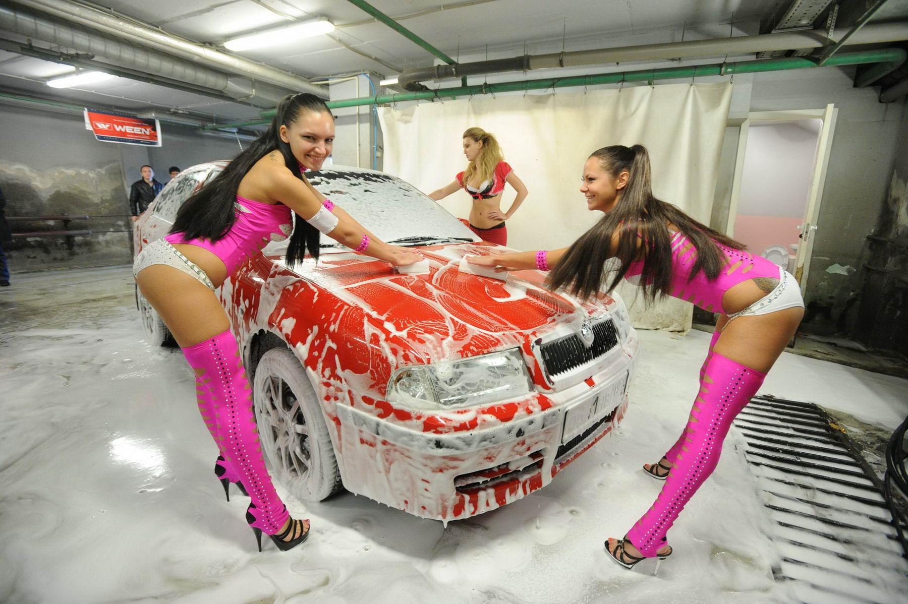 Девушки для автомойки фото